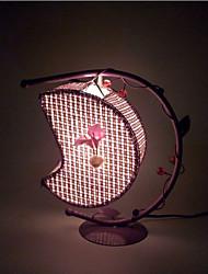 lampes d'éclairage lampe lampe de chevet de la chambre de lune créative de cadeau européen de la personnalité romantique (couleur