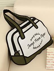 3D Three-dimensional Cartoon Satchel Shoulder Bag Wristlet Tote
