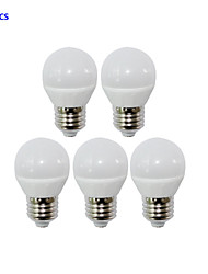 E26/E27 4W LED Globe Bulbs 4 SMD 2835 320lm Warm White / Cool White AC 85-265V Yangming 5 pcs