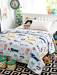 Forest House High-end 100% Cotton Air Conditioning Quilt summer Cool Quilt Full/Queen Size