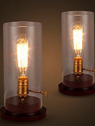 Lampes de bureau-Traditionnel/Classique / Rustique/Campagnard-Bois/bambou-PHILIPS