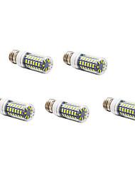 12W E26/E27 LED-maissilamput T 56 SMD 5730 1200 lm Lämmin valkoinen / Kylmä valkoinen AC 220-240 V 5 kpl