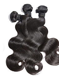 3Pcs/Lot Malaysia Virgin Hair Body Wave 100% Human Hair Unprocessed Human Hair Weaves