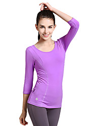 Women's Long Sleeve Running T-shirt Tops Antistatic Breathable Compression Sweat-wicking Spring Summer Winter Fall/Autumn Sports WearYoga