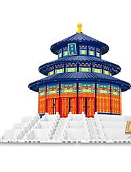 dr wan, Blöcke le Gebäude der weltberühmten Gebäude Modell der Tempel des Himmels in Peking 8020 diy