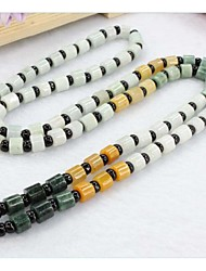 Necklace Strands Necklaces Jewelry Wedding / Party / Daily / Casual Jade White / Yellow / Green 1pc Gift