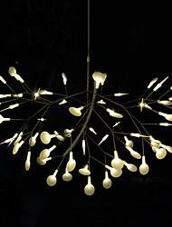 Innovation Firefly Pendant Light Modern Northern Europe Modern Creative Snowflake Tree Leaf Pendant Lamps Lightings