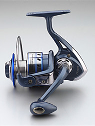 Metal  Fishing Spinning Reel 12 Ball Bearings  Exchangable Handle-JF5000