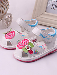 Baby Shoes Dress / Casual Leather Fashion Sneakers Pink / White / Peach