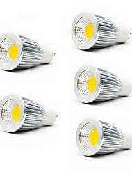 ZDM™ 5PCS  7W GU10/E27/GU5.3 550LM Warm/Cool White Light LED COB Spot Lights(85-265V)