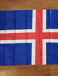 The Iceland Flag Polyester Flag 5*3 Ft 150*90 Cm High Quality Cheap Price In-Kind Shooting