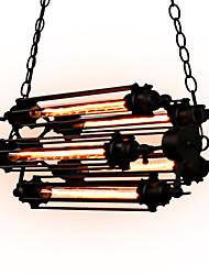 40W Подвесные лампы ,  Деревенский стиль Живопись Особенность for Мини Металл Столовая / Кабинет/Офис / Игровая / Гараж