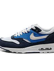 Nike Air Max 87 Chaussure de Jogging Homme Antiusure Jaune / Blanc / Gris / Noir / Bleu Course Lacet Tissu