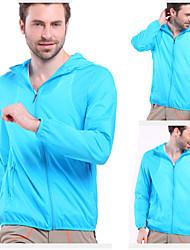 KORAMAN Men's Lightweight Jacket UV Protect+Quick Dry Windproof Skin Coat