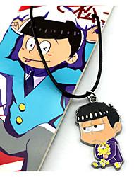 Schmuck Inspiriert von Cosplay Cosplay Anime Cosplay Accessoires Halsketten Rot / Blau Legierung Mann / Frau