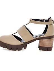 Mujer / Para Niña-Tacón Robusto-Tacones / Confort / Innovador / Botas a la Moda / Zapatos y Bolsos a Juego / ZapatillasBoda / Oficina y