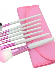 7pcs Makeup Brushes Set Portable/Limits Bacteria Pink Blush Brush Shadow/Eyeliner/Lip Brush Makeup Kit Cosmetic Brushes