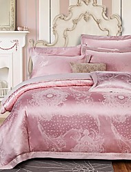 Floral Cotton 4 Piece Duvet Cover Sets