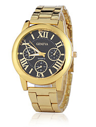 Ladies' European Style Fashion Geneva Rome Steel Quartz Wrist Watch Cool Watches Unique Watches
