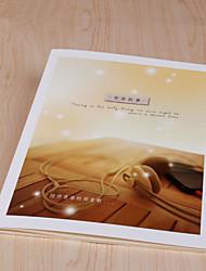 1PC Sea and Sky Beautiful Scenery Photography Rainy Day Cover Notebook(Style random)