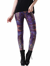 Damen Bedruckt Legging,Polyester Medium