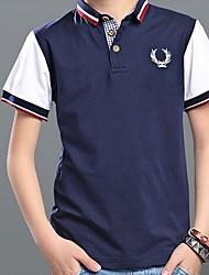 Tee-shirts Boy Imprimé Eté Coton