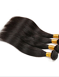 4Pcs Lot  Peruvian Virgin Hair Straight 100% Human Hair Extensions Protea Hair Products