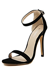 Women's Sandals Summer Sandals PU Casual Stiletto Heel Others Black / Silver / Gold Others