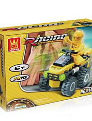 dr wan, Auto le Blöcke Spielzeug Power Puzzle Montageblöcke zu diy, 24082