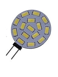 7W G4 Spot LED MR11 15 SMD 5730 550-650 lm Blanc Chaud / Blanc Froid Décorative DC 12 / AC 12 / AC 24 / DC 24 V 1 pièce