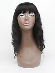 nouvelle arrivent # 2 longues perruques pour les femmes noires perruques synthétiques avec une frange chaleur cheveux synthétique