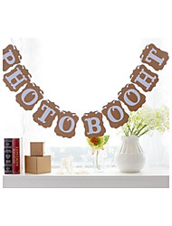 PHOTO BOOTH Wedding Birthday Party Decorations Photo Props Bunting Banners