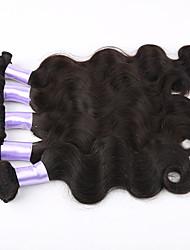 3Bundles cabelo humano cabelo virgem feixes de vison tecer peruanas não transformados peruanas virgens do cabelo