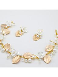 Damen / Blumenmädchen Kristall / Legierung Kopfschmuck-Hochzeit / Besondere Anlässe Stirnbänder 3 Stück