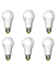 10W E26/E27 LED Globe Bulbs A60(A19) 1 COB 1020 lm Warm White Dimmable AC 220-240 V