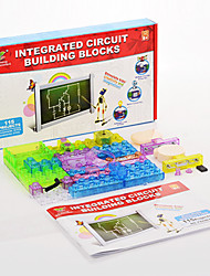 Integrated Electronic Building Blocks Of 115 Pcs