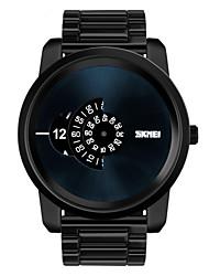 Skmei® Men's Big Dial Fashion Multifunction Wrist Watch 30m Waterproof Assorted Colors Cool Watch Unique Watch