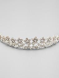 Women's Flower Girl's Alloy Cubic Zirconia Headpiece-Wedding 1 Piece