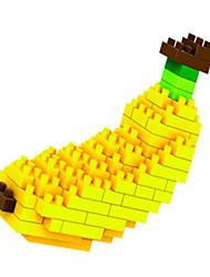 loz loz bloques de plátano diamante bloquean los juguetes juguetes DIY (80 piezas)