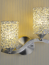 Modern Simplicity Wall Lights Aluminium profile Living Room / Bedroom / Hallway light Fixture 2-lights