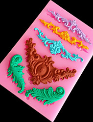 Lace Silicone Cake Mold Cake Lace Embossed Stamp Die