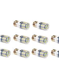 4W E26/E27 LED лампы типа Корн T 24 SMD 5730 960 lm Тёплый белый / Холодный белый AC 220-240 V 10 шт.