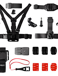 Gopro Accessories Chest Harness / Front Mounting / Hand Straps / Wrist Strap / Accessory Kit / Smart Remotes / Mount/Holder All in One,