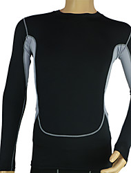 Running T-shirt / Compression Clothing / Tops Men's Quick Dry / Stretch / Compression / Sweat-wickingEquestrian / Fitness / Racing /