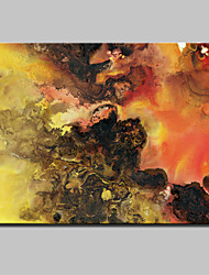 Lager Hand-painted Modern Abstract Oil Painting On Canvas Wall Art For Living Room Home Decor Wall Paintings Whit Frame
