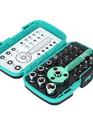 """pro'skit® 22pcs многофункциональные ладони трещотка бит 1/4 """"гнездо водителя набор инструментов отвертки комплект для ремонта"""