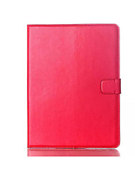 High Quality Oil Wax Crazy Horse Style Standing Flip Leather Case For ipad air  ipad 6 Card Slot