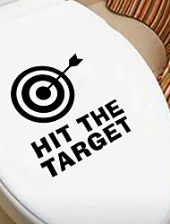 Wall Stickers Wall Decals Style Hit The Target English Words & Quotes PVC Wall Stickers