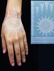 1 Tatuagens Adesivas Séries Totem Á Prova d'águaFeminino Masculino Adulto Flash do tatuagem Tatuagens temporárias