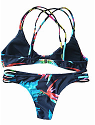 New Printing Black Bikini